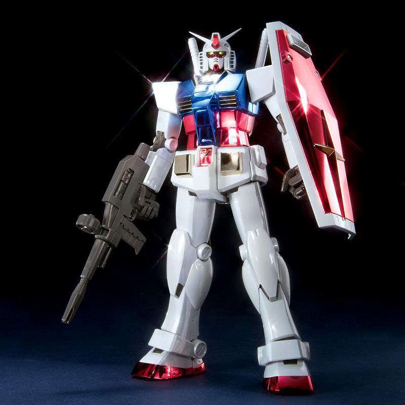 MG RX-78-2 Gundam Ver 2.0 Titanium Finish