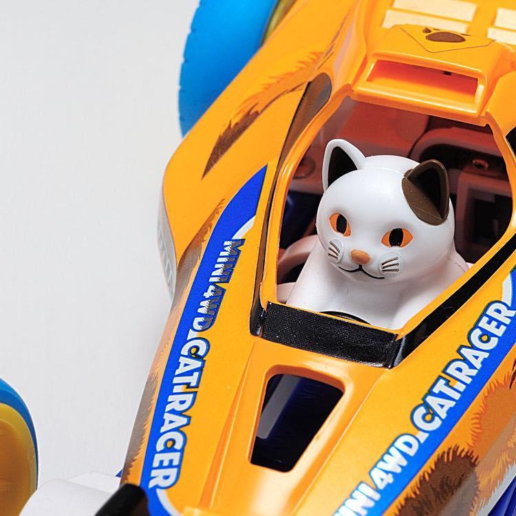 Mini 4WD Cat Racer (Super-II Chassis)