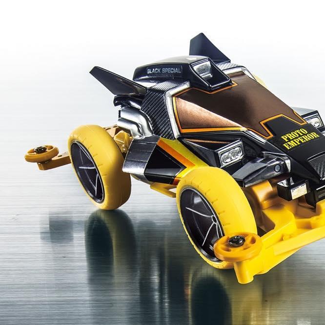 Mini 4WD Dash X1 Proto-Emperor Premium Black Special (Super-II Chassis)