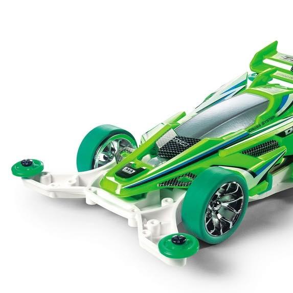 Mini 4WD DCR-02 Fluorescent Green Special (MA Chassis)