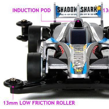 Mini 4WD REV Shadow Shark (AR Chassis)