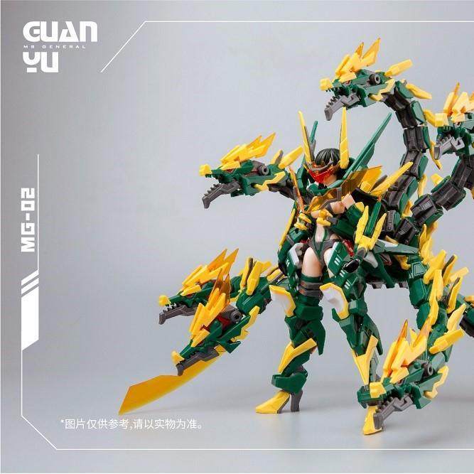 MS General MG-02 Guan Yu x Lei Shen DX Ver.