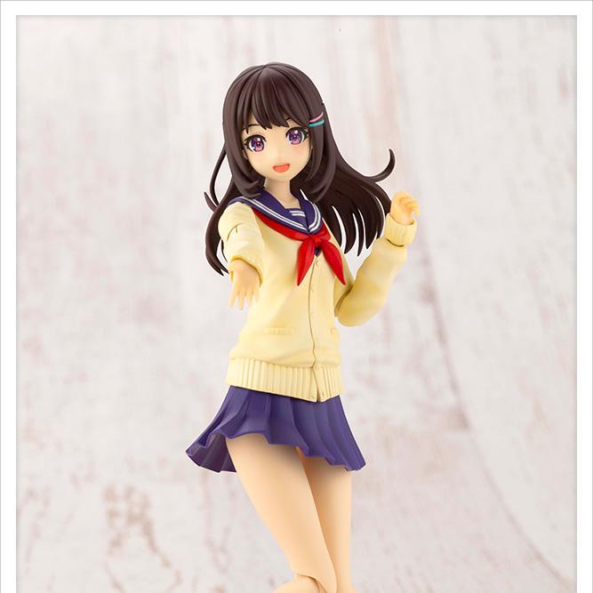 Sousai Shojo Teien JK001 Madoka Yuki (Touou High School Winter Clothes)