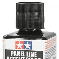 Panel Line Accent Color - Black