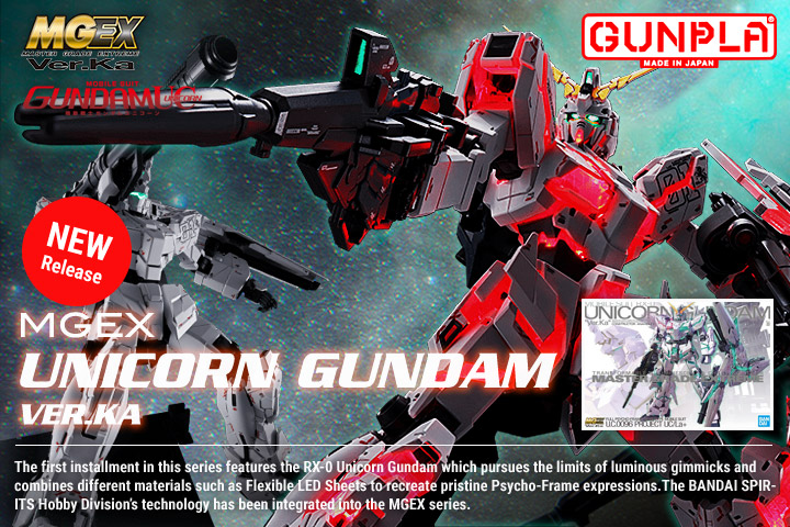 Shop MGEX Unicorn Gundam