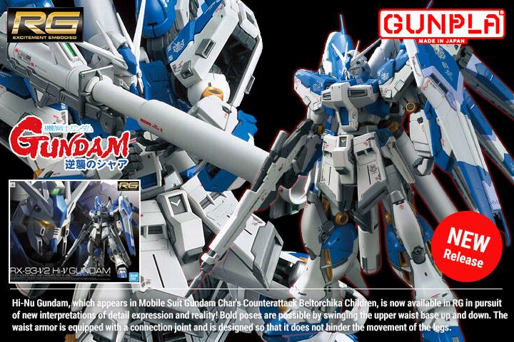 Shop RG Hi-Nu Gundam