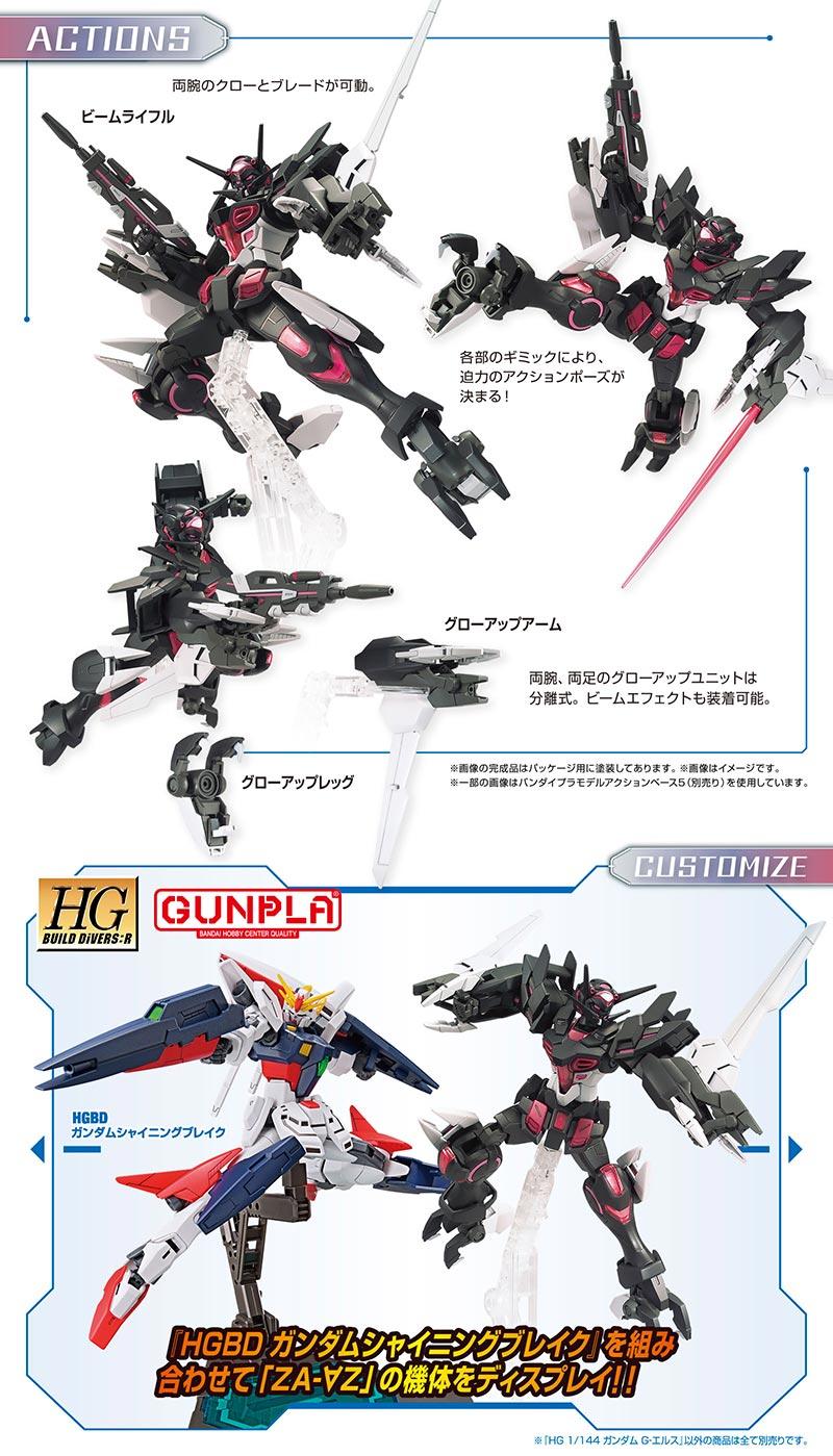 HGBD:R Gundam G-Else Details