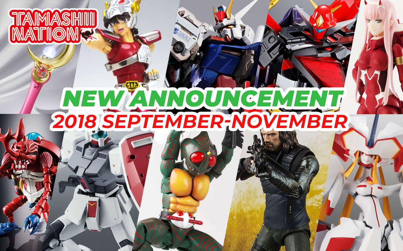 Bandai Tamashii Nations May 2018 Preorder Update!