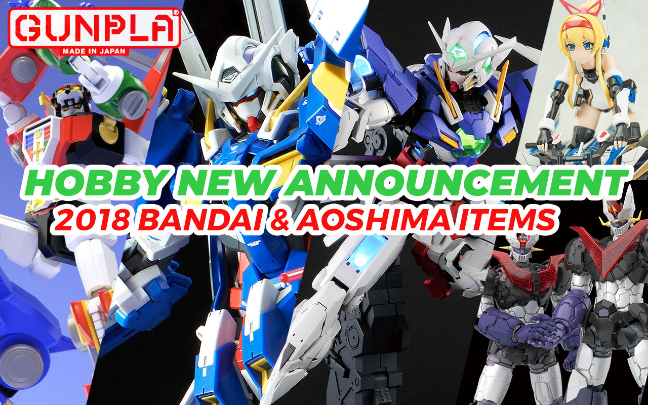 Hobby Items September ~ November 2018 New Announcement