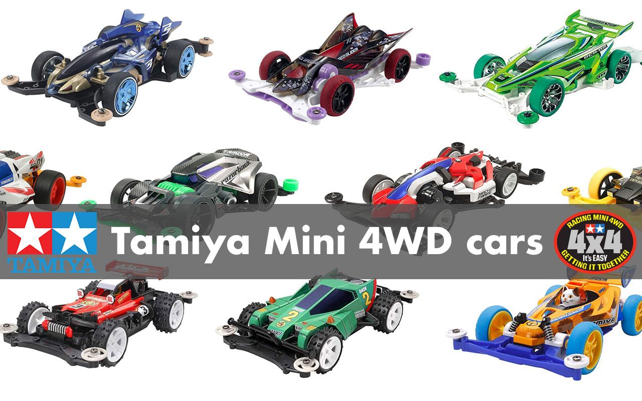 Tamiya Mini 4WD cars now available at Gundam Planet!