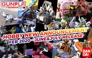 BANDAI Hobby February 2020 Announcement: June ~ July 2020 Arrivals