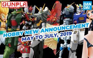 BANDAI Hobby Mar 2019 Announcement: May ~ June 2019