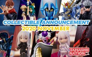 November 2020 New Tamashii Nations Announcement