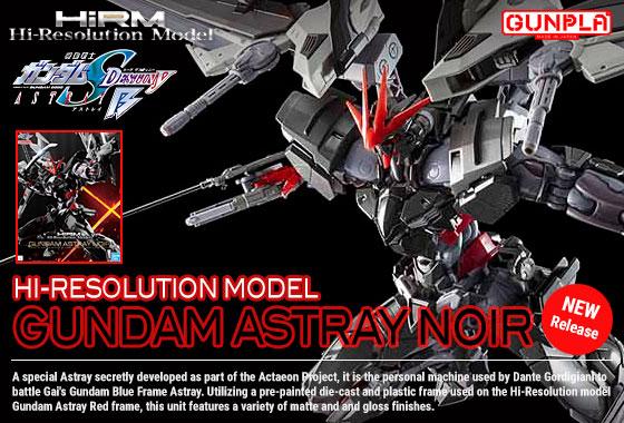 Shop HiRM Gundam Astray Noir