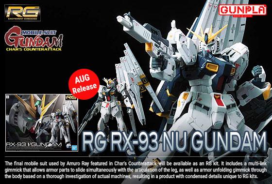 Shop RG Nu Gundam