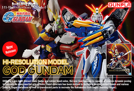Shop Hi-Res God Gundam