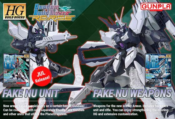 Shop HGBDR Fake Nu Gundam