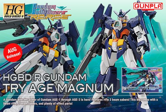 Shop HGBDR Gundam TryAge Magnum