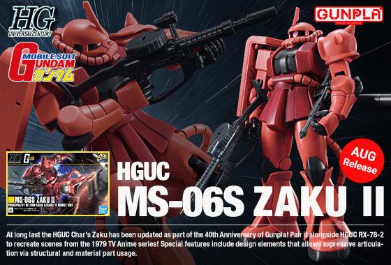 Shop HGUC Char's Zaku II