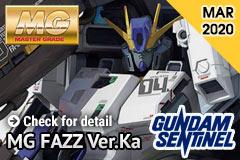 Pre-order MG FAZZ