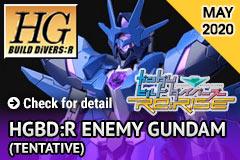 Pre-order HGBD:R Enemy Gundam