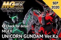 Pre-order MGEX Unicorn Gundam