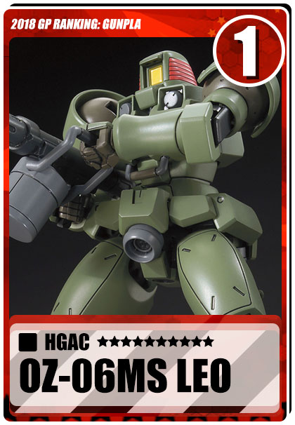 2018 Gundam Planet Top Sales - HGAC Leo