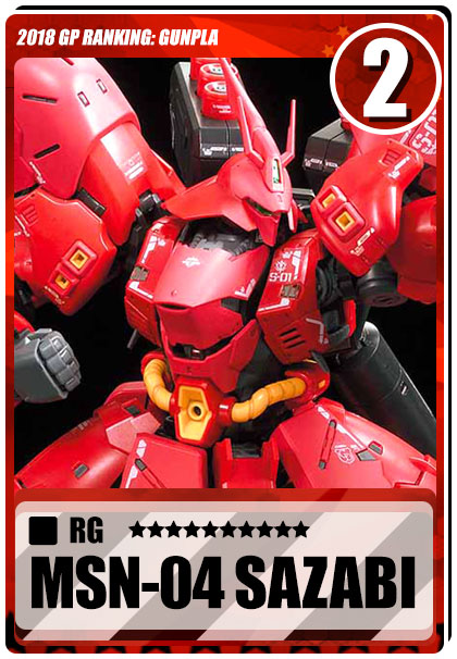 2018 Gundam Planet Top Sales - RG Sazabi
