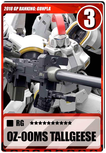 2018 Gundam Planet Top Sales - RG Tallgeese