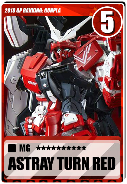 2018 Gundam Planet Top Sales - MG Astray Turn Red