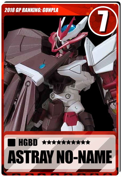 2018 Gundam Planet Top Sales - HGBD Gundam No Name
