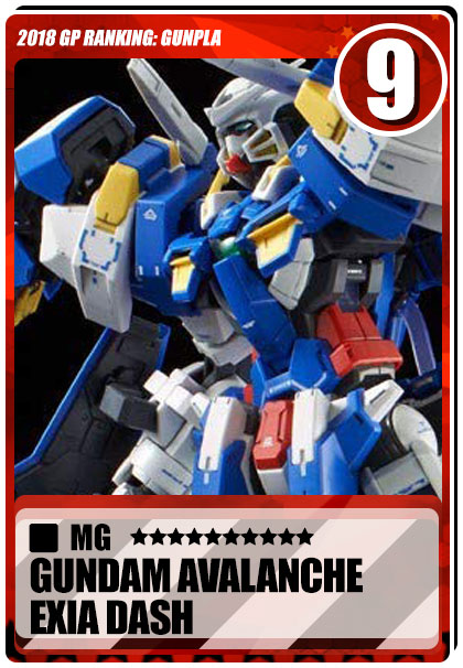2018 Gundam Planet Top Sales - MG Gundam Avalanche Exia Dash