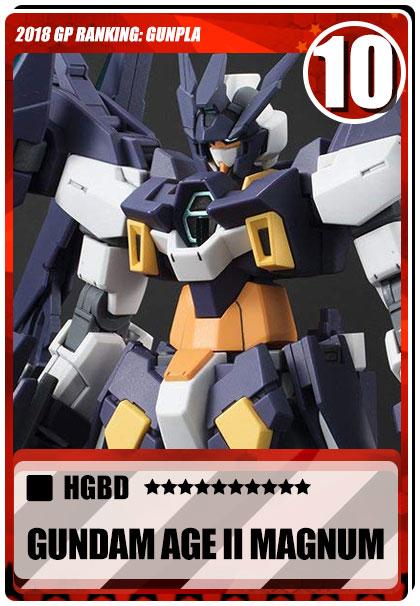 2018 Gundam Planet Top Sales - HGBD Gundam AGE-II Magnum