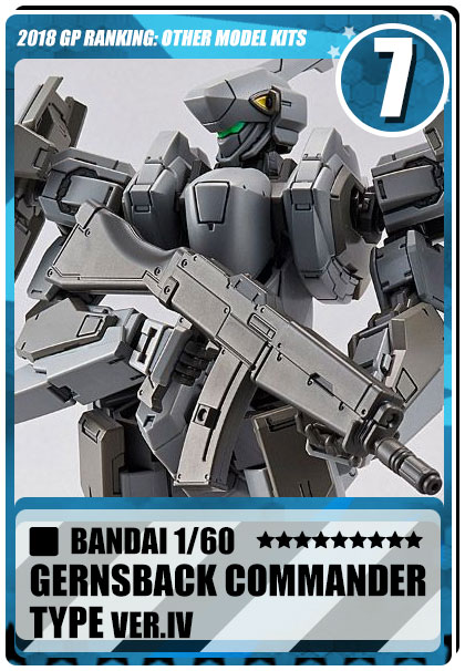 2018 Gundam Planet Top Sales - 1/60 Gernsback