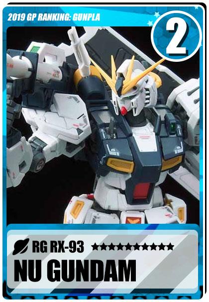 2019 Gundam Planet Top Sales - RG Nu Gundam