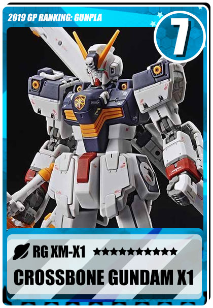 2019 Gundam Planet Top Sales - RG Crossbone Gundam X1