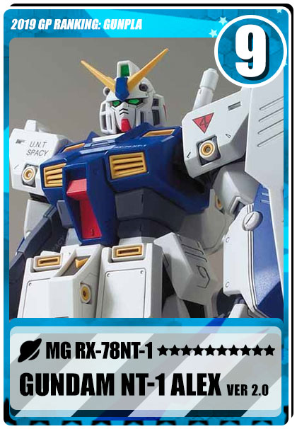 2019 Gundam Planet Top Sales - MG Gundam NT-1 Alex