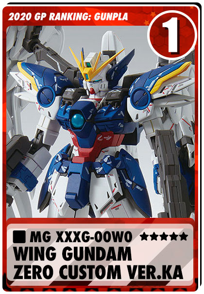 2020 Gundam Planet Top Sales - MG Wing Gundam Ver.Ka