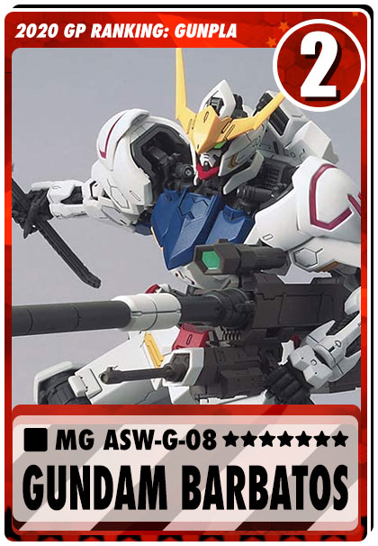2020 Gundam Planet Top Sales - MG Barbatos