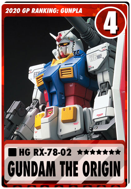 2020 Gundam Planet Top Sales - HG Gundam The Origin