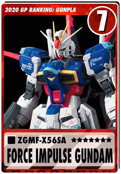 2020 Gundam Planet Top Sales - RG Force Impulse Gundam