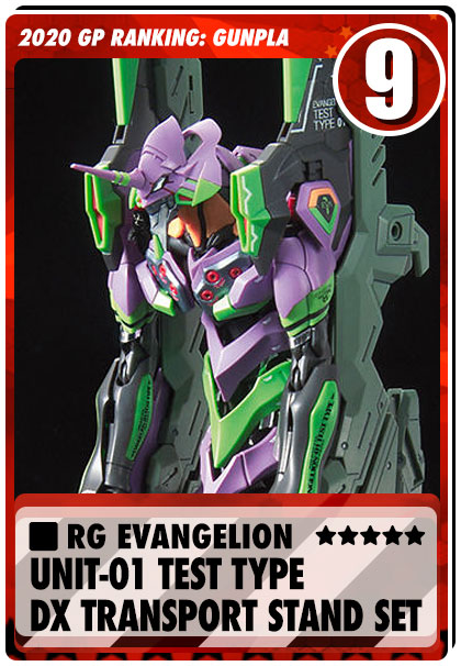 2020 Gundam Planet Top Sales - RG Evangelion DX