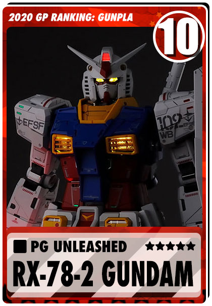 2020 Gundam Planet Top Sales - PG Unleashed Gundam