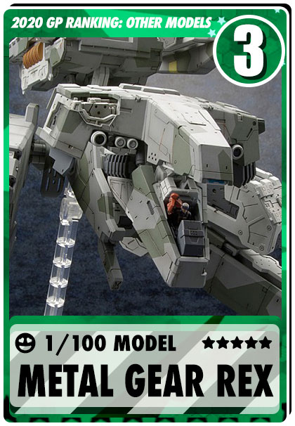 2019 Gundam Planet Top Sales - 1/100 Metal Gear REX