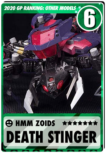 2019 Gundam Planet Top Sales - HMM Zoids Death Stinger