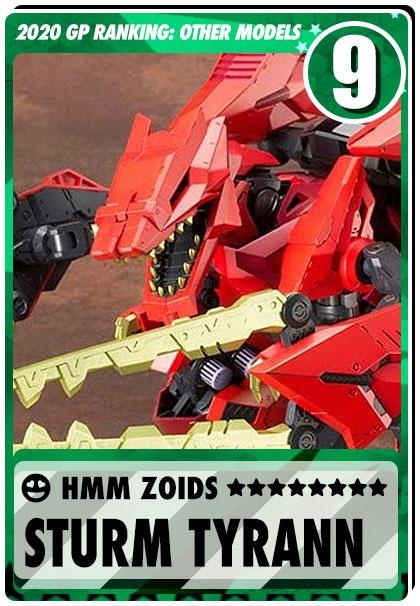 2019 Gundam Planet Top Sales - HMM Zoids Sturm Tyrann