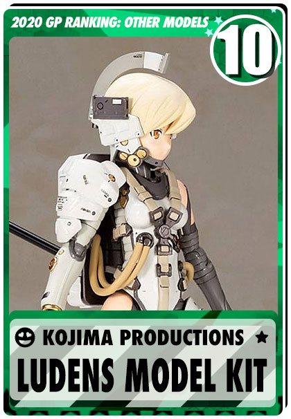 2019 Gundam Planet Top Sales - Kojima Productions: Ludens Model Kit