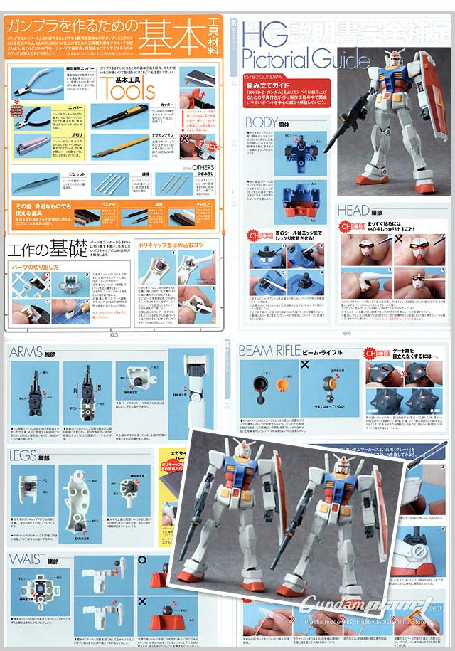 Gunpla Starter Set 2 Guidebook