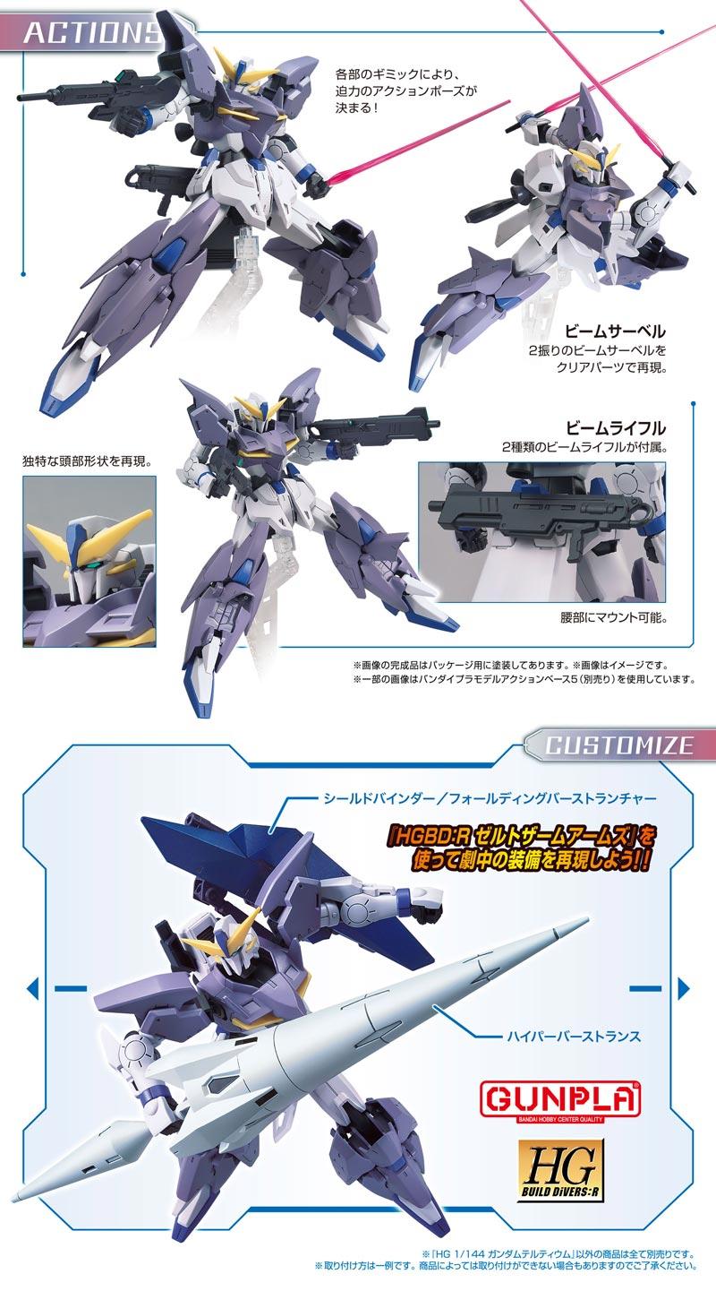 HGBD:R Gundam Tertium Details