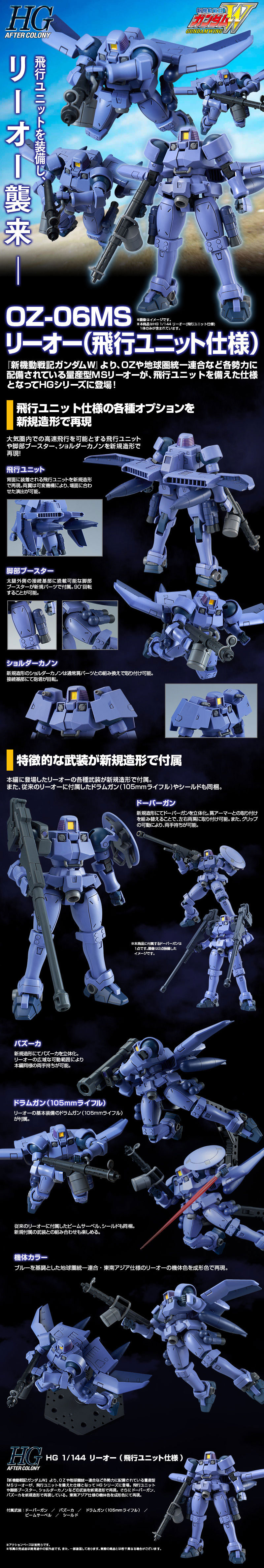 HGAC Leo Flight Unit Type Details